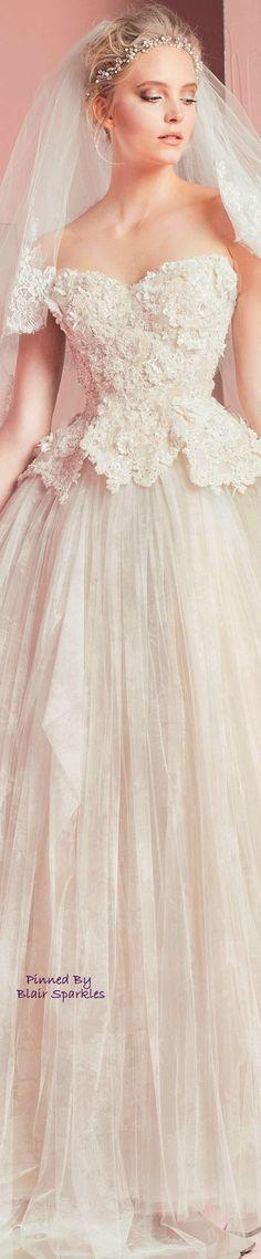 ZUHAIR MURAD BRIDAL 2016 ~ ♕♚εїз   BLAIR SPARKLES  