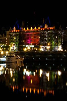 Overlooking Victoria's Inner Harbour, the Fairmont Empress is haunted by the ghost of its architect, a small man with a thin mustache. #Halloween #VictoriaBOO #Haunted #VictoriaBC #exploreVictoria | www.tourismvictoria.com
