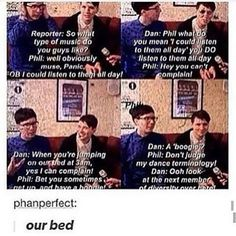 Do you remember the tweet with Dan saying that he stayed in bed, watching tv all day, and making Phil bring him food? Dan doesn't have a tv in his room, but PHIL DOES!!!!<---GUYS, THIS IS IMPORTANT