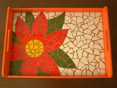 Resultado de imagem para bandejas em mosaico