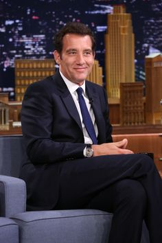 The refined Master Grande Tradition à Tourbillon #watch seen on the wrist of #CliveOwen at The Tonight Show Starring Jimmy Fallon.