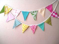 fabric banners for kids' room