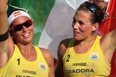Le campionesse italiane 2014, Marta Menegatti e Viktoria Orsi Toth