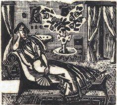 Sem título, anos 1940, do livro Irmãos Karamazov