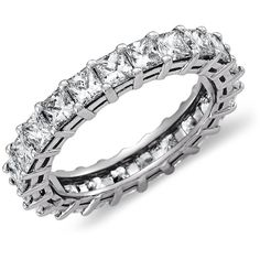 f13c63e2a Stunning and brilliant, this diamond eternity ring in platinum features a  beautifully matched circle of princess cut diamonds, the perfect wedding or  ...