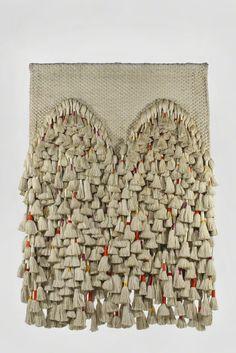 Double Prayer Rug, Silk, linen, cotton and gold thread, Sheila Hicks, 203 1/5 × 154 2/5 cm, 1970. #shopbird15 #SS14
