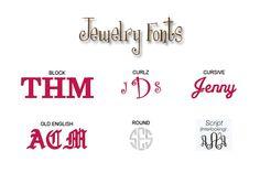 i like all the fonts