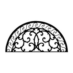 Arch Scroll | Wrought Iron Wall Decor