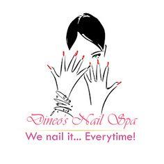 nail logo beauty nails in 2018 pinterest logos salons and rh pinterest com nail salon logo vector nail salon logo samples