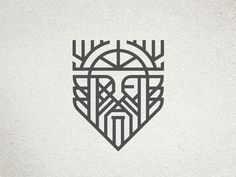 Industrial pallet furniture Odin Icon by Ryan Brinkerho . - Industrial pallet furniture Odin Icon by Ryan Brinkerhoff – - Odin Symbol, Viking Tattoo Symbol, Norse Tattoo, Armor Tattoo, Tattoo Symbols, Viking Tattoo Design, Art Viking, Viking Symbols, Viking Runes