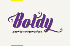 Boldy Free Font is beauty boldfont, simple, clean, elegant and flexible. With 456 of glyphs including multilingual support, standard ligatures, …