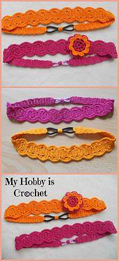 Ravelry: Thread headband pattern by Myhobbyiscrochet - free pattern