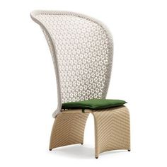 100 Essentials Exotica High Back Lounge Chair with Cushion Finish: Pale Taupe, Fabric: Sunbrella Jockey Red