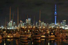 Auckland city sky line