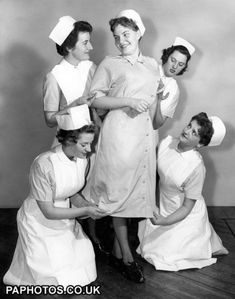 NHS nurses 1958