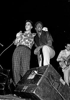 Terry Hall & Neville Staple of The Specials, 1981 by Syd Shelton