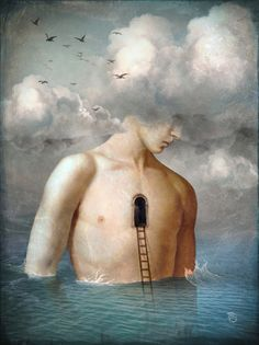 The door to the clouds by Christian Schloe.