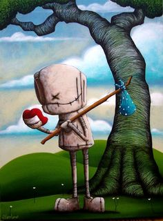 Fabio Napoleoni art from artcenterink.com