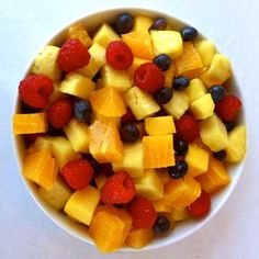 Take a bite out of the tropics with this Hawaiian-inspired take on a classic fruit salad. Recipe: Hawaiian Fresh Fruit Salad   - Delish.com