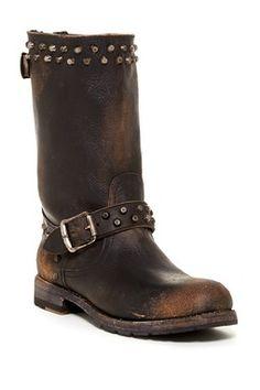 Rogan Biker Zip Boot