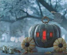 Fall decor Pumpkin Carriage by Blaze Masters