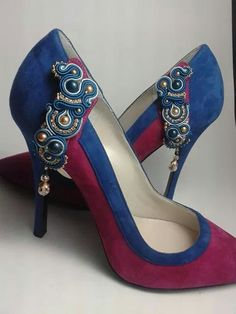 Soutache and shoes Eliana Maniero jewels