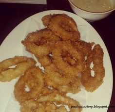 Filipino Seafood Recipe: CALAMARES (Fried Breaded Squid)