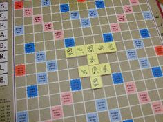 Scrabble set using the American Sign Language finger-spelling alphabet.....aaaaah! Need! wow!
