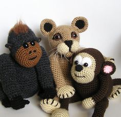 I have the gorilla pattern that I meant to make for my dad...if you know him they are like twins...I need to find it and make him I forgot!