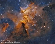 IC1805 (Melotte 15) - The heart of the heart nebula in bi colour #Explored   by swag72 (www.swagastro.weebly.com)