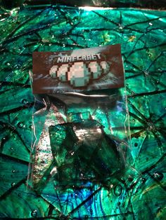 Minecraft Diamonds Rock Candy party favor photo