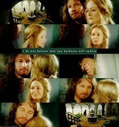 Faramir/Eowyn in the House of Healing