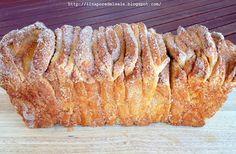 Il sapore del sale: Cinnamon and sugar pull-apart bread.. un pane goloso!