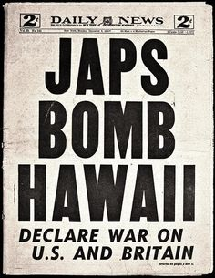 vintage everyday: 28 Newspaper Headlines From the Past That Document History's Most Important Moments Newspaper Headlines, Old Newspaper, Newspaper Archives, World History, World War Ii, History Class, Hiroshima, Nagasaki, Guerra Total