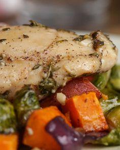 One-pan Fall Chicken Dinner Recipe by Tasty