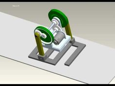 Planetary gear walking robot - YouTube