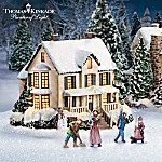Thomas Kinkade's Christmas Village Collection: Artist Select. Fans of the renowned Painter of Light™ have reason to rejoice! Thomas Kinkade has assembled his ideal Christmas village - just for you - in a rare collecting opportunity from The Bradford Exchange, Hawthorne Village Division. This Thomas Kinkade Christmas Village Collection captures the essence of Thom's coveted artwork in a fully dimensional 6-piece presentation. Take a stroll through a nostalgic winter evening beginning with…