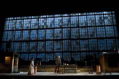 La Bohème from Opéra de Montréal. Directed by Alain Gauthier. Sets by Olivier Landreville. Set Design Theatre, Stage Design, Radium Girls, Theatre Stage, Stage Set, Scenic Design, Stage Lighting, Cinematography, Shadow Box