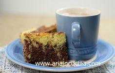 Blog di cucina di Aria: Torta bicolore all'acqua calda