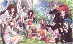 Strawberry Panic - Anime and Manga and Light Novel.