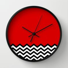 Black Lodge Dreams (Twin Peaks) Wall Clock by Welcome To Twin Peaks - $30.00