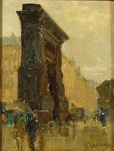 Floris Arntzenius (1864-1925) - Vue à Paris