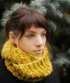 Free Knitting Pattern - Cowls and Neck Warmers: Diversify Cowls