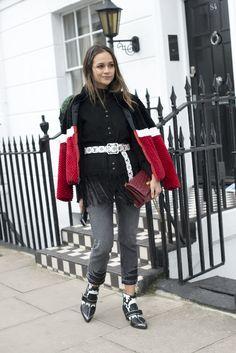 London Fashion Week Street Style Februar 2016   POPSUGAR Deutschland Mode