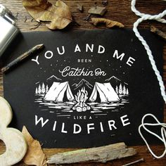 you and me been catchin on like a wildfire - john mayer, wildfire Typography Logo, Logo Branding, Logo Montagne, John Mayer Tattoo, Lettering Design, Logo Design, Badge Design, Map Design, Branding Design