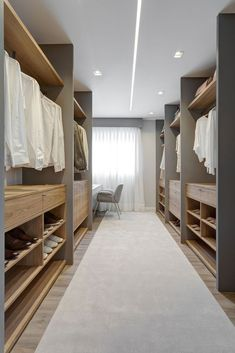Gallery of Capri Apartment / archi [lab] - 31 Image 31 of 38 from gallery of Capri Apartment / archi [lab]. Photograph by Isabela Mayer – Triad Photo Wardrobe Room, Wardrobe Design Bedroom, Closet Bedroom, Bedroom Decor, Closet Space, Walk In Closet Design, Closet Designs, Dressing Room Design, Dressing Rooms