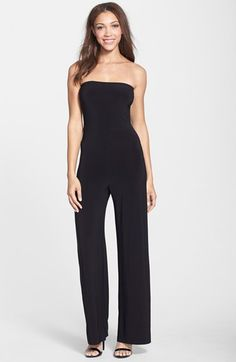KAMALIKULTURE Strapless Jersey Jumpsuit available at #Nordstrom