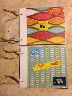Dream Vacation & Travel Destination Scrapbook Mini Album