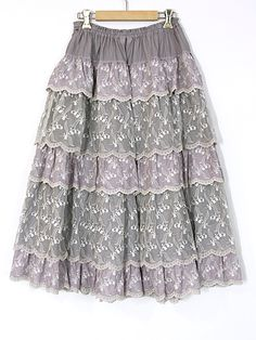 SALE すずらんレーススカート | PINKHOUSE,セール | ピンクハウスウェブショップ Sequin Skirt, Sequins, Skirts, Clothes, Fashion, Outfits, Moda, Clothing, Kleding