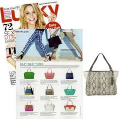 Stella & Dot bags- Summer Collection- featured in Lucky Magazine